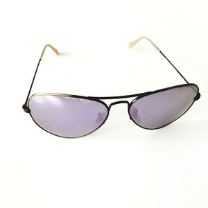 Ray-Ban Accessories - Ray Ban 3025 Purple Rust Brown Aviator